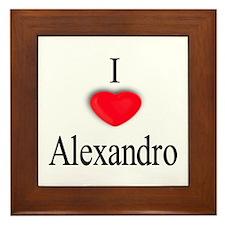 Alexandro Framed Tile