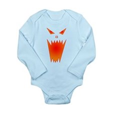 Cute Horrific Long Sleeve Infant Bodysuit