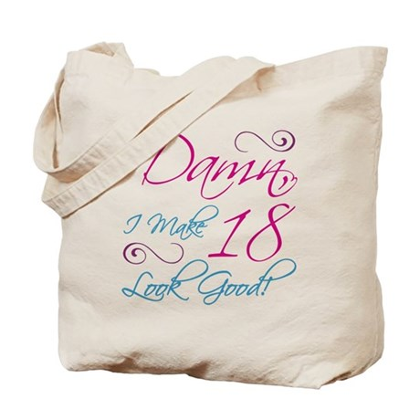 18th Birthday Humor Tote Bag