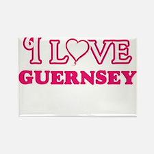 I love Guernsey Magnets