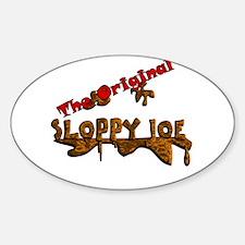 The Original Sloppy Joe V3.0 Sticker (Oval)