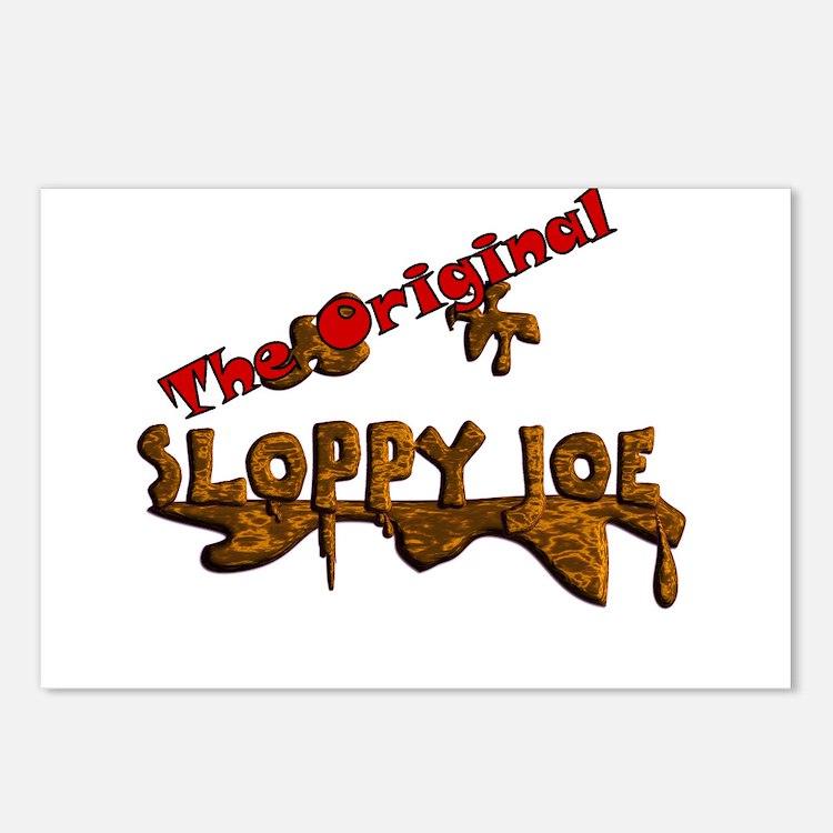 The Original Sloppy Joe V3.0 Postcards (Package of
