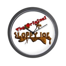 The Original Sloppy Joe V3.0 Wall Clock