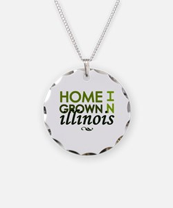 'Home Grown In Illinois' Necklace