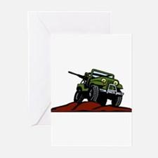 Military Vehicle1 Greeting Cards (Pk of 10)
