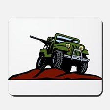 Military Vehicle1 Mousepad