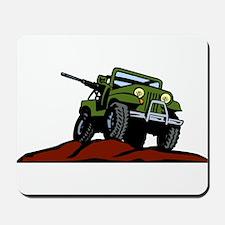 Military Vehicle1 Mousepad