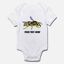 Wasp, with Custom Text. Infant Bodysuit