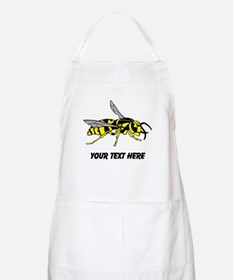 Wasp, with Custom Text. Apron