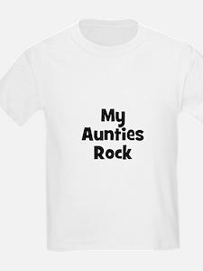 My Aunties Rock Kids T-Shirt