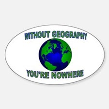 THE WORLD AWAITS Decal
