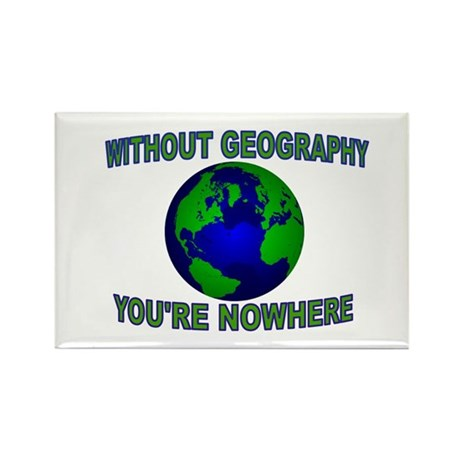 THE WORLD AWAITS Rectangle Magnet (100 pack)