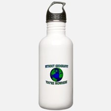 THE WORLD AWAITS Water Bottle