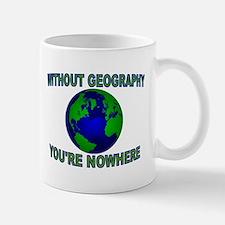 THE WORLD AWAITS Mug