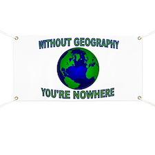 THE WORLD AWAITS Banner
