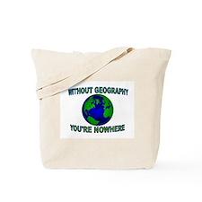 THE WORLD AWAITS Tote Bag