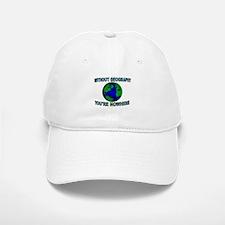 THE WORLD AWAITS Baseball Baseball Cap