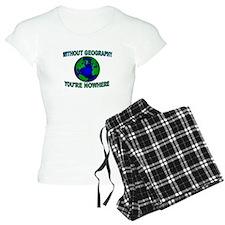THE WORLD AWAITS Pajamas