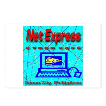 Net Express Cyber Cafe Postcards (Package of 8)