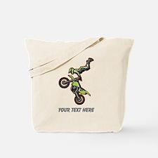 Motocross Jump Tote Bag