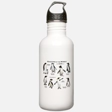 Penguins of the World Water Bottle