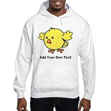 Cute Chick. Black Text Jumper Hoody