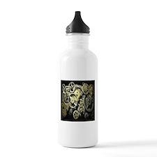 SteamPunk Gears Water Bottle