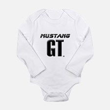 Mustang GT Long Sleeve Infant Bodysuit