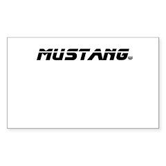 Mustang 2012 Decal
