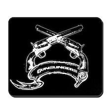 Gunslingers Mousepad