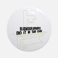 Includes X-Ray Specs. Ornament (Round)