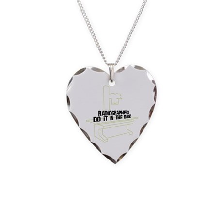 Includes X-Ray Specs. Necklace Heart Charm