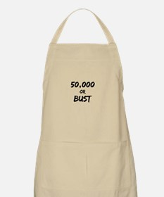 50,000 or Bust Apron