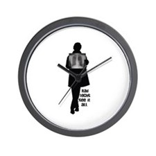 On the Inside! Wall Clock