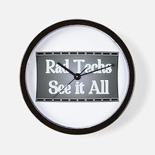 I See All. Wall Clock