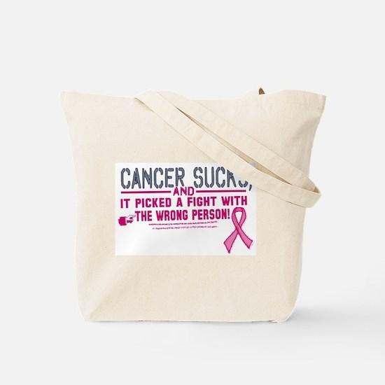 Kicking Cancer's Ass Tote Bag