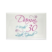30th Birthday Humor Rectangle Magnet