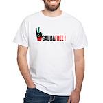 Libya - Gaddafi end White T-Shirt