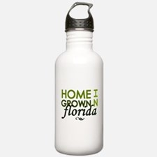 'Home Grown In Florida' Water Bottle