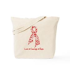 Stroke Awareness Ribbon Tote Bag