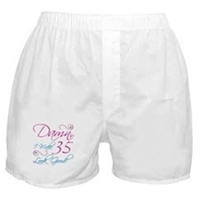 35th Birthday Humor Boxer Shorts
