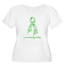 Spinal Cord Injury Ribbon T-Shirt
