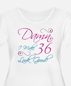 36th Birthday Humor T-Shirt