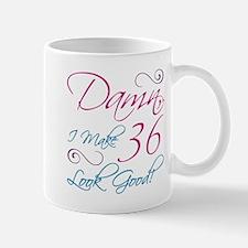 36th Birthday Humor Small Small Mug