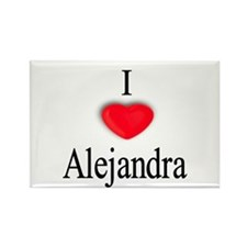 Alejandra Rectangle Magnet