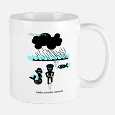 Cycling Hazard - Sudden Rain Mug
