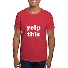 Yelp This T-Shirt (Pedro)
