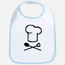 Chef cooking hat Bib