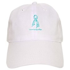 PCOS Awareness Butterfly Baseball Cap