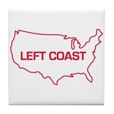 LEFT COAST Tile Coaster